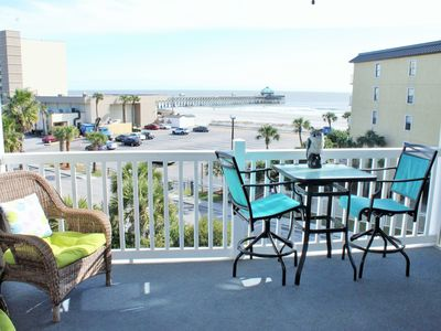 Photo for Our Place at the Beach ~ Ocean Views! 3BR/3BA Condo