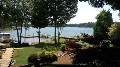 Photo for 5 Bed, 4 Ba House w/ private sandy beach, dock, huge back deck, foos ball table!