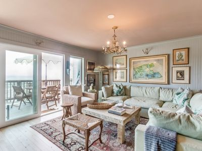 Photo for Stunning Beachfront Townhouse, Newly Renovated, on 30A's Seagrove Beach