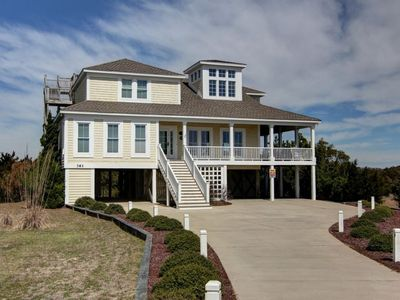 Photo for Blue Skies - Sweeping, unobstructed ocean, inlet and waterway views!