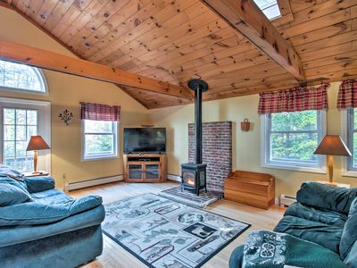 Photo for Bethel Chalet w/Hot Tub - 3 Miles to Sunday River!