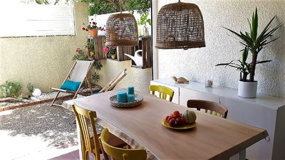 Photo for LE FARNIENTE classified 3 stars by the sea with small garden, parking and WIFI