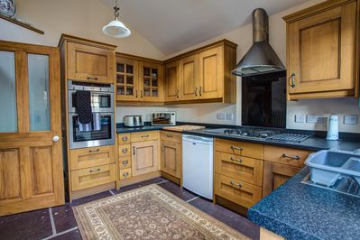 Spacious kitchen with all you need and more.