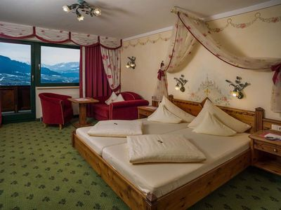 Photo for 3-6 days double room, bath, WC, superior - Hotel AlpenSchlössl