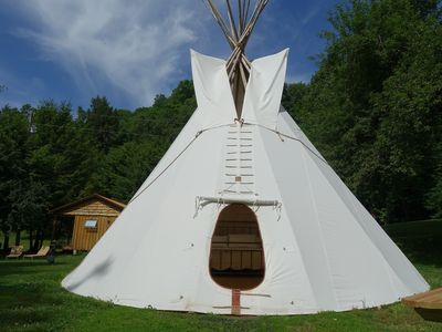 Photo for Copperhead Retreat Glamping Tipi