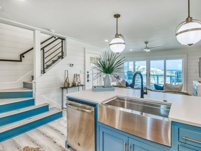 Photo for OCEANFRONT - OCEAN VIEWS - BEACHFRONT, 2 King Suites, Near Rosemary Beach!