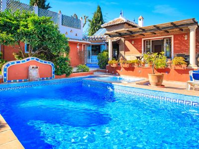 Photo for Vacation home Villa Cecilia in Nerja - 10 persons, 6 bedrooms