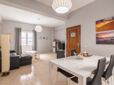 Photo for Spacious apartment in Las Canteras with 3 bedrooms, beach 100 meters.