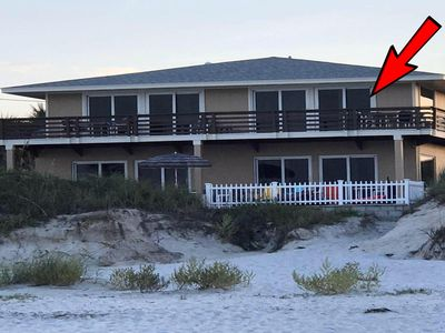 Photo for Pet Friendly - Angel Inn the Sand - Fish Unit Upstairs North Direct Ocean Front