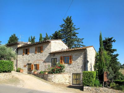 Photo for Vacation home Agriturismo San Rocco (GRE170) in Greve in Chianti - 4 persons, 1 bedrooms