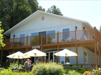 Photo for Water View in Downtown Fish Creek - The Cookery's Lodging.