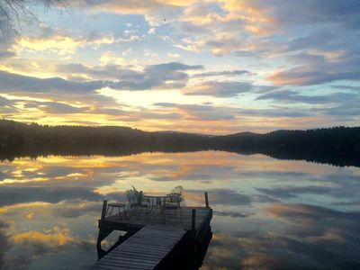 Photo for Best View on Perkins Pond, Sunapee Cottage Charm