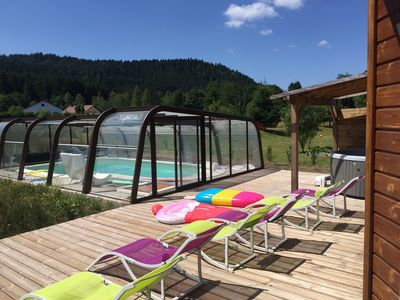 Photo for Chalet Gérardmer 15 pers indoor swimming pool heated all year round