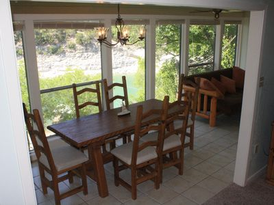 Photo for Waterfront Hatter Cove Cottage with Private Boat Dock