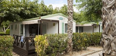 Photo for Camping in Cambrils bungalow of 5 Pers 2 bedroom with play areas