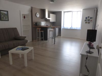 Photo for Renovated studio in the center of Clairvaux-les-lacs
