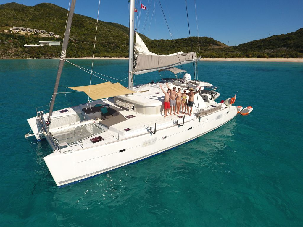 luxury inclusive catamaran