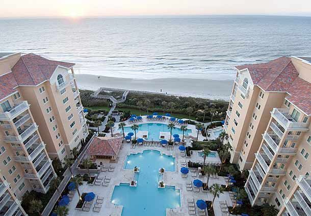 Marriott Oceanwatch 2 Bedroom Villa At Myrtle Beach Vrbo