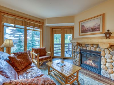 Photo for Condo w/ ski view, shared hot tub, tennis, & fitness room - walk to lifts