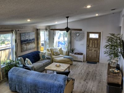 Photo for The Coastal Cottage - 2 Master Bedrooms & Large Deck - Short Walk to Quiet Beach