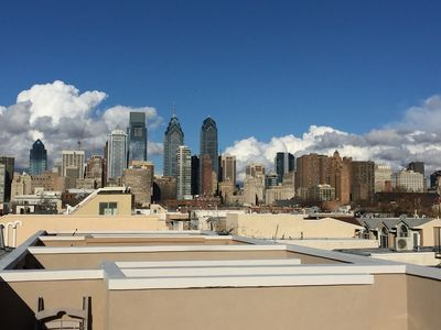 Luxury Spacious Home W/large Patio And Amazing Rooftop Deck W/city View