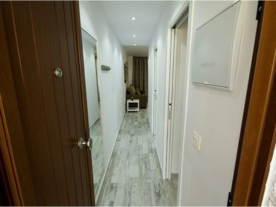 Photo for Sea View, 200m from the beach, Wi-Fi, Satellite TV, Refurbished, New.