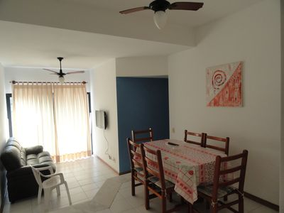 Photo for Praia da Enseada, Guaruja, comfortable apartment, 100 meters from the beach.