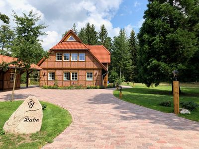 Photo for Attractive holiday home for up to 8 people in a newly built half-timbered house