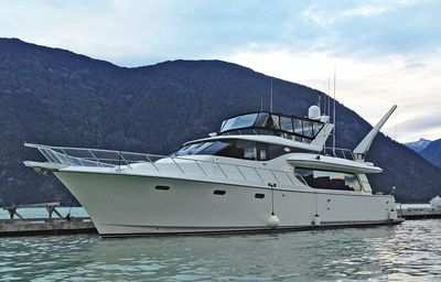 66' Eclectic Lady Pilot House Motor Yacht