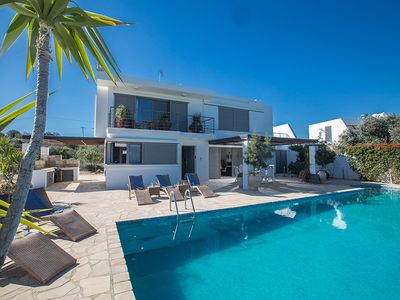 Photo for Villa Amelia, Luxury 4BDR Protaras Villa, close to Fig Tree Bay Beach