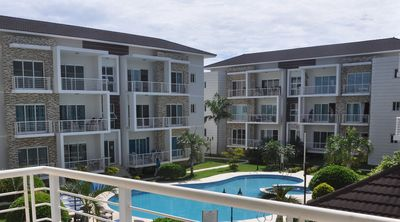 "Photo for ""Family-Friendly Sosua condo with large pool, 2BD 2BTH Wifi/cable TV """