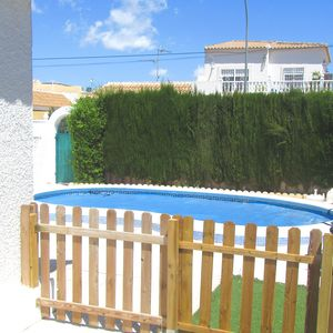 Photo for Two Bedrooms(Sleeps 4-6 ),Private Pool (Heated), Air Con, WIFI, Car Not Needed