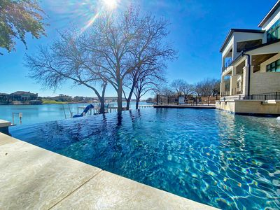 Photo for New Luxe Rental - Swimming Pool, Spa & The Most POPULAR BOAT DOCK ON LBJ!