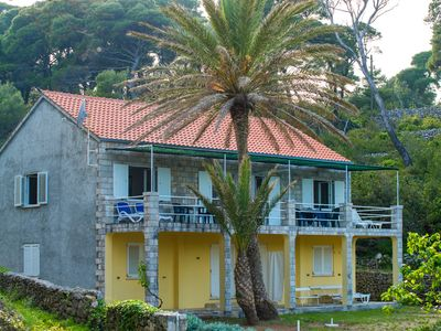 Photo for Villa Kolocep 1 - 20min with boat from Dubrovnik, 20m far from beach