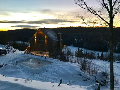 Photo for 2BR Chalet Vacation Rental in La Minerve, QC