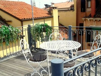Photo for MODERN APARTMENT VENICE WITH TERRACE