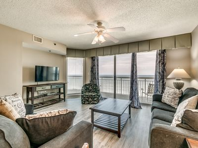 Photo for Oceanfront 3 bedroom condo NMB - NEWLY RENOVATED!