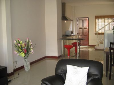 Photo for 2 Bed townhouse in Thailand, Hua Hin, in peaceful area overlooking hills
