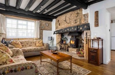 Photo for The Bell House is a Grade II listed Cotswold stone cottage, located in the heart of Stow-on-the-Wold