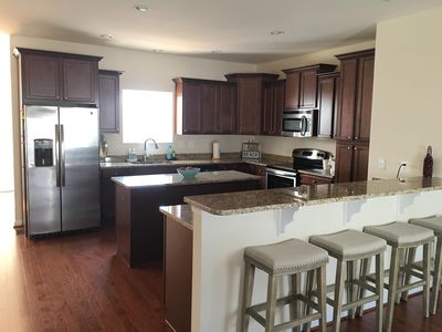2nd Floor Large  Kitchen with Granite Counter Tops