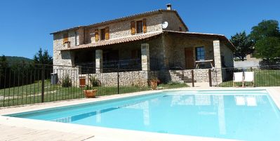 Photo for Beautiful farmhouse in Provence with private pool ideal for families