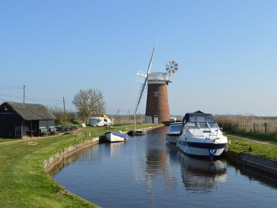Photo for Seal Cottage, Horsey - Walk to beautiful sandy beach & Seal colony - The Broads.