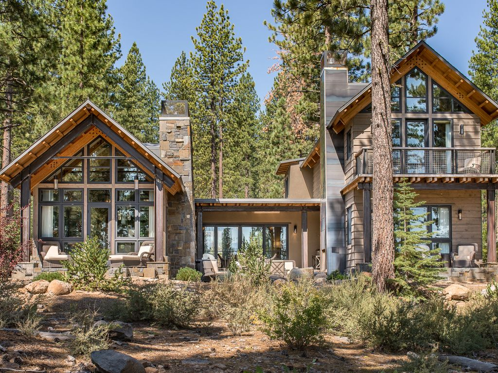 Award winning rustic modern design in truckee ca