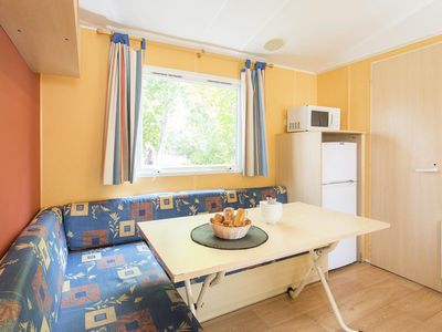 Photo for Holiday Club Les Apricotiers ** - Mobil Home 3 rooms 4/6 people Standard