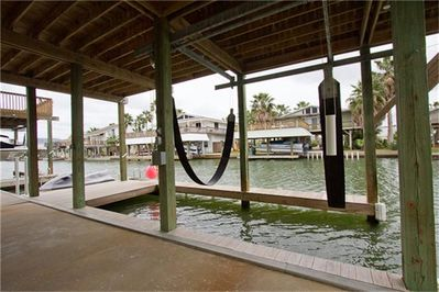 Boat Lift and room for waterski