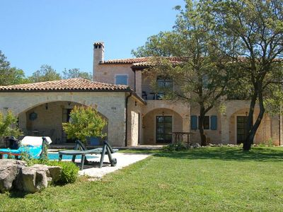 Photo for Peaceful Seclusion In This Beautiful Traditional Istrian Stone Villa.
