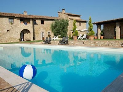 Photo for Holiday apartment Barberino Val d'Elsa for 1 - 6 persons - Farmhouse