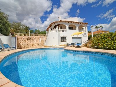Photo for Detached villa Calpe with sea views and Penon - Private pool - Garden