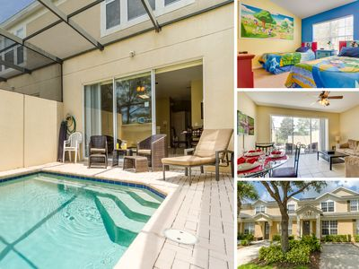Photo for Windsor Hills Townhome  by SVV - 3 bed /3 bath with West Facing Splash Pool