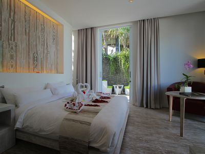 Photo for 1BR Luxuary Villa and Private Pool + B'fast